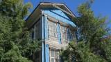 Midden Siberie. Barnaul. Oud Russisch huis.