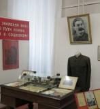 Midden Siberie. Barnaul. Stalin in museum.
