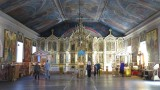 Midden Siberie. Barnaul. Kerkinterieur.