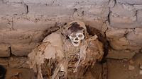 Oude Indiaanse mummie