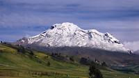 De vulkaan Chimborazo