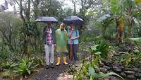 Jungletocht in de regen