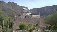 Eerste missiepost in California Baja