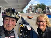 Met de pont bij Capelle aan de IJssel