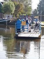 De pont over het Noord Hollandskanaal