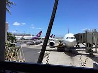 vliegtuig staat al klaar