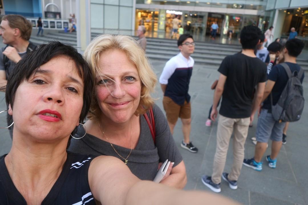 Judy en Renée zijn er ook!