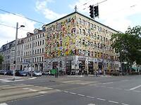 Gebouw aan de Karli (Karl-Liebknecht-Straße)