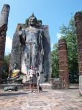 Wat Saphan Hin. De tempel boven op de berg