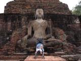 Esmée bij Wat Mahathat