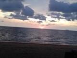 De zonsondergang van vandaag