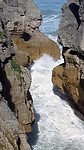 Pancake rocks en Blowholes