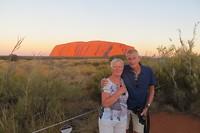 Zons ondergang Uluru