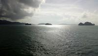 Eilanden in de golf van Thailand
