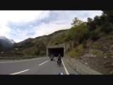 Een klein stukje door Zwitserland op weg naar de Reschenpas