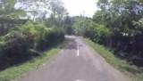 Afdaling naar Padangbai 1