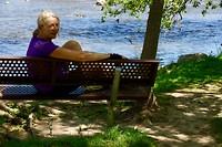 Even pauze aan de Grand River