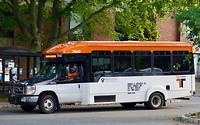 Gratis vervoer voor de studenten, naar het stadje maar ook naar Wegman's, van de universiteit zelf