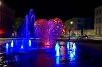 De Coeur de Troyes bij avond