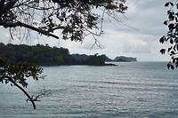 De kustlijn van Manuel Antonio NP