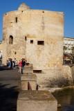 Eén van de drie 'torre' die het oude Alghero tegen onheil van buiten moesten beschermen
