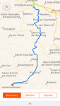 Routeprofiel etappe 13