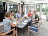 Eten bij de familie Walraven