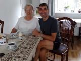Op de koffie bij tante Mina, mijn peettante