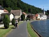 Het nieuwe kanaal bij Lutzelbourg