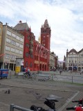 Rathaus van Basel. Echt lelijk