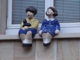 Jut en jul in de vensterbank