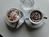 De cappuccino kunstwerken
