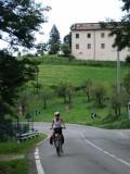 Inge beklimt de Apennijnen