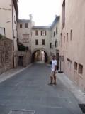 Een van de vele mooie straatjes