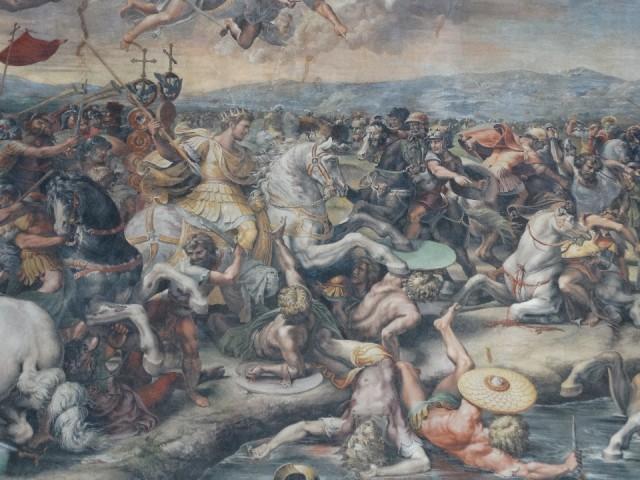 In het Vaticaans museum