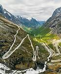 Trollstigen - The mountain road  to Geiranger