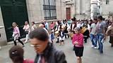 Galicische processie in Santiago