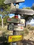 Vele wegen naar Ronda, ook GR routes