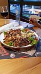 Sjaan: bordje leeg eten!
