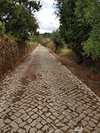Mooie bestraatte wegen