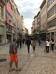 Winkelstraat in Coimbra