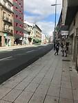 De buitenwijk van Santiago