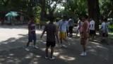 badminton zonder racket