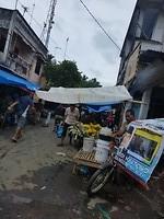 Markt onderweg