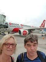 Vlucht met Air Asia