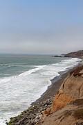 Pacific Ocean vanaf de camping