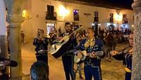 Street music .. Villa De Leyva