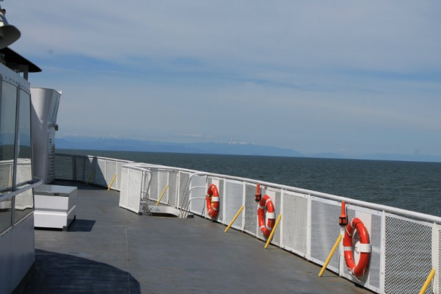 how to travel from nanaimo to campbell river