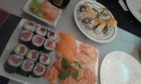 Nog een echte Portugese specialiteit....sushi