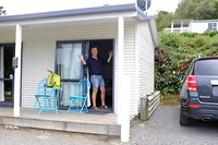 Onze cabin in Akaroa